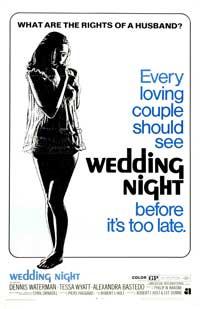 Wedding Night - 27 x 40 Movie Poster - Style B