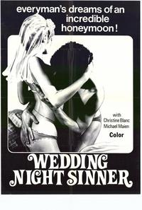 Wedding Night Sinner - 11 x 17 Movie Poster - Style A