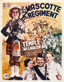 Wee Willie Winkie - 27 x 40 Movie Poster - Belgian Style A