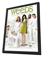 Weeds (TV) - 11 x 17 TV Poster - Style M - in Deluxe Wood Frame
