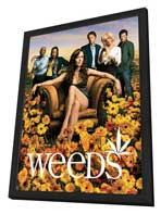 Weeds (TV) - 27 x 40 TV Poster - Style A - in Deluxe Wood Frame