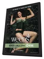 Weeds (TV) - 27 x 40 TV Poster - Style F - in Deluxe Wood Frame