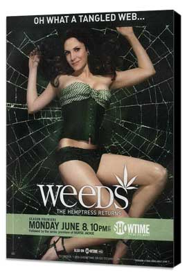 Weeds (TV) - 11 x 17 TV Poster - Style O - Museum Wrapped Canvas