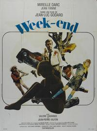 Week-end - 43 x 62 Movie Poster - French Style A