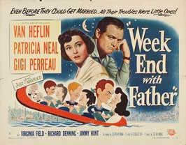 Week-End with Father - 22 x 28 Movie Poster - Half Sheet Style A
