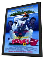 Weekend at Bernie's 2 - 11 x 17 Movie Poster - Style A - in Deluxe Wood Frame