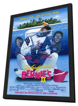 Weekend at Bernie's 2 - 27 x 40 Movie Poster - Style A - in Deluxe Wood Frame