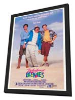 Weekend at Bernie's - 27 x 40 Movie Poster - Style B - in Deluxe Wood Frame