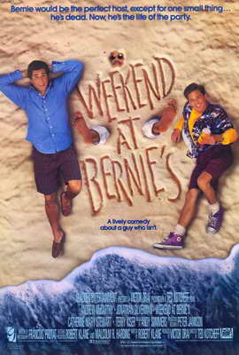 Weekend at Bernie's - 27 x 40 Movie Poster - Style A