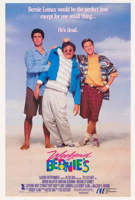 Weekend at Bernie's - 27 x 40 Movie Poster - Style B