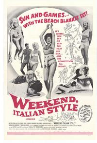 Weekend Italian Style - 11 x 17 Movie Poster - Style A