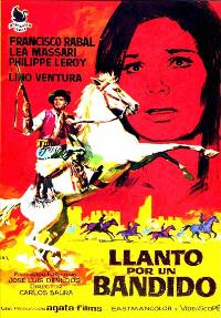 Weeping for a Bandit - 11 x 17 Movie Poster - Spanish Style A