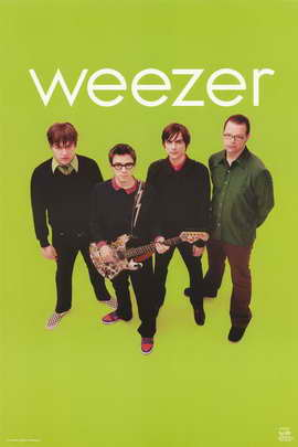 Weezer - Music Poster - 24 x 36 - Style C