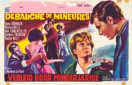 Wegen Verf�hrung Minderj�hriger - 27 x 40 Movie Poster - Belgian Style A