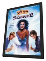 Weird Science - 11 x 17 Movie Poster - Style B - in Deluxe Wood Frame
