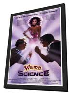 Weird Science - 27 x 40 Movie Poster - Style A - in Deluxe Wood Frame