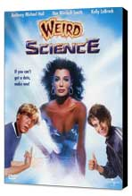 Weird Science - 27 x 40 Movie Poster - Style B - Museum Wrapped Canvas