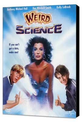 Weird Science - 11 x 17 Movie Poster - Style B - Museum Wrapped Canvas