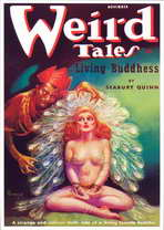 Weird Tales (Pulp) - 11 x 17 Retro Book Cover Poster