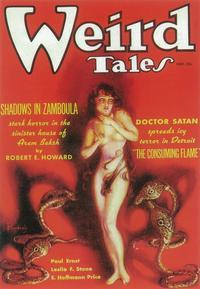 Weird Tales (Pulp) - 11 x 17 Pulp Poster - Style D
