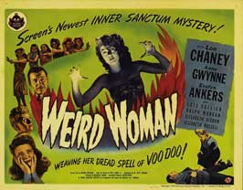 Weird Woman - 11 x 14 Movie Poster - Style A