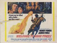 Welcome to Hard Times - 22 x 28 Movie Poster - Half Sheet Style A