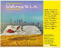 Welcome to L.A. - 11 x 14 Movie Poster - Style A