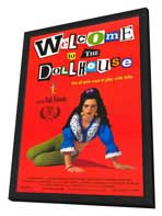 Welcome to the Dollhouse - 27 x 40 Movie Poster - Style A - in Deluxe Wood Frame