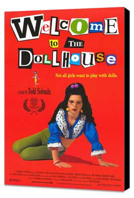 Welcome to the Dollhouse - 27 x 40 Movie Poster - Style A - Museum Wrapped Canvas