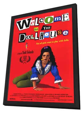 Welcome to the Dollhouse - 11 x 17 Movie Poster - Style A - in Deluxe Wood Frame