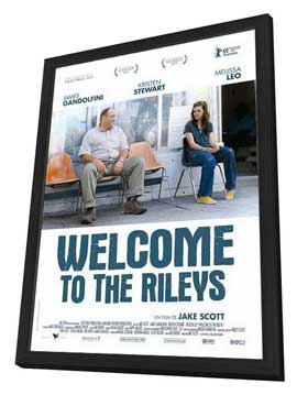 Welcome to the Rileys - 27 x 40 Movie Poster - French Style A - in Deluxe Wood Frame