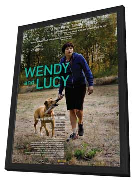 Wendy and Lucy - 11 x 17 Movie Poster - Style A - in Deluxe Wood Frame