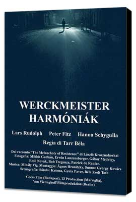 Werckmeister Harmonies - 11 x 17 Movie Poster - Hungarian Style A - Museum Wrapped Canvas
