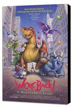 We're Back! A Dinosaur's Story - 11 x 17 Movie Poster - Style A - Museum Wrapped Canvas