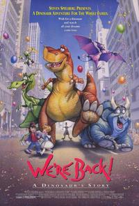 We're Back! A Dinosaur's Story - 11 x 17 Movie Poster - Style A