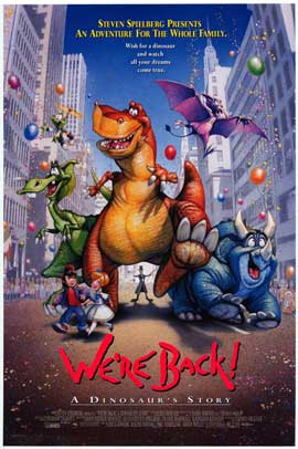 We're Back! A Dinosaur's Story - Movie Poster - Reproduction - 11 x 17 Style A
