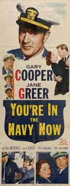 We're in the Navy Now - 14 x 36 Movie Poster - Insert Style A