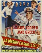 We're in the Navy Now - 11 x 17 Movie Poster - Belgian Style A