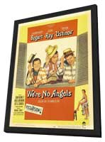 We're No Angels - 11 x 17 Movie Poster - Style B - in Deluxe Wood Frame