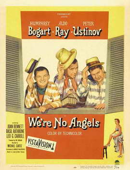 We're No Angels - 11 x 17 Movie Poster - Style B