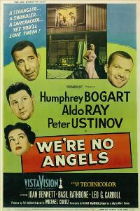 We're No Angels - 11 x 17 Movie Poster - Style C