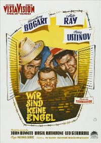 We're No Angels - 11 x 17 Movie Poster - German Style A
