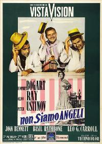 We're No Angels - 27 x 40 Movie Poster - Italian Style A