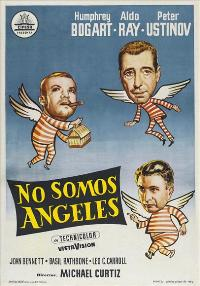 We're No Angels - 11 x 17 Movie Poster - Spanish Style A