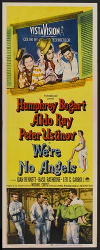 We're No Angels - 14 x 36 Movie Poster - Insert Style A