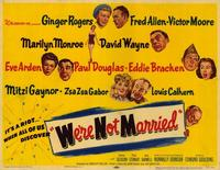 We're Not Married - 11 x 17 Movie Poster - Style A