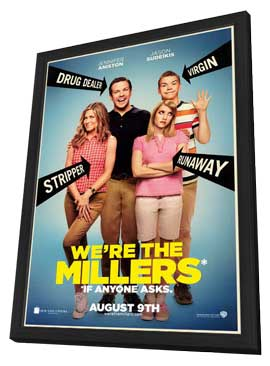 We're the Millers - 11 x 17 Movie Poster - Style A - in Deluxe Wood Frame