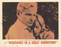 Werewolf in a Girl's Dormitory - 11 x 14 Movie Poster - Style C