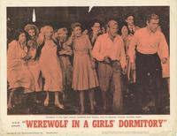 Werewolf in a Girl's Dormitory - 11 x 14 Movie Poster - Style G
