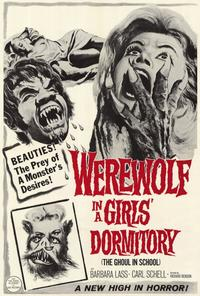 Werewolf in a Girl's Dormitory - 27 x 40 Movie Poster - Style A